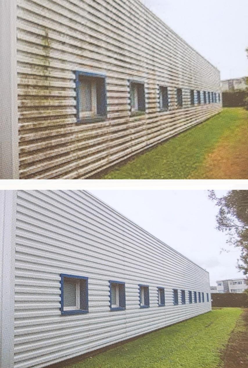 nettoyages de façades industrielles